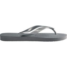 havaianas Top Tiras Sandales Femme, steel grey